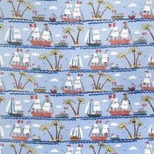 Blue Juvenile Decorator Fabric by Fabricut