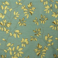 Turquoise Botanical Decorator Fabric by Kravet