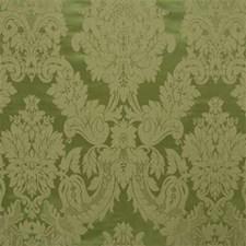 Celery Damask Decorator Fabric by Kravet