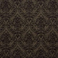 Brown Damask Decorator Fabric by Kravet