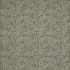 Green/Beige Paisley Decorator Fabric by Kravet