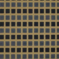 Yellow/Blue Check Decorator Fabric by Kravet