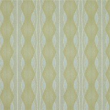 Light Blue/Yellow Stripes Decorator Fabric by Kravet