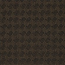 Black/Brown Modern Decorator Fabric by Kravet