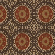 Sepia Medallion Decorator Fabric by Kravet