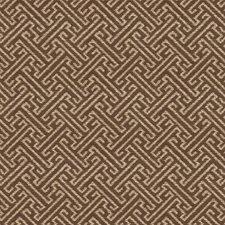 Brown/Beige Asian Decorator Fabric by Kravet
