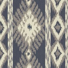 Indigo Ikat Decorator Fabric by Kravet