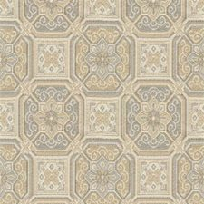 Beige/Grey/White Small Scales Decorator Fabric by Kravet