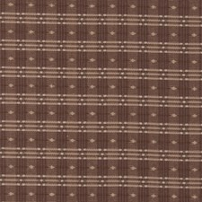 Chocolate Check Decorator Fabric by Fabricut