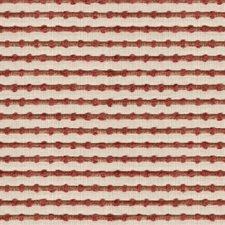 White/Orange Stripes Decorator Fabric by Kravet