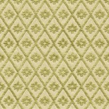 White/Green Diamond Decorator Fabric by Kravet