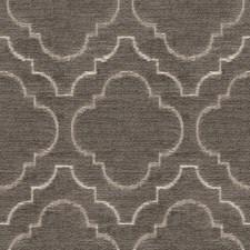 Grey/White Bargellos Decorator Fabric by Kravet