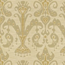 Beige/Grey/Yellow Ethnic Decorator Fabric by Kravet