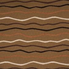 Latte Stripes Decorator Fabric by Fabricut
