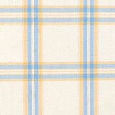 Blue/yellow Decorator Fabric by Duralee