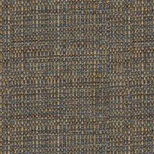 Blue/Yellow Tweed Decorator Fabric by Kravet