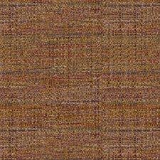 Yellow/Purple/Multi Texture Decorator Fabric by Kravet
