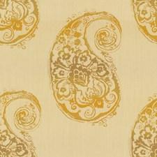 Golden Paisley Decorator Fabric by Kravet