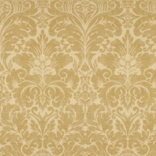 Golden Botanical Decorator Fabric by Kravet