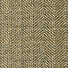 Beige/Light Blue Tweed Decorator Fabric by Kravet