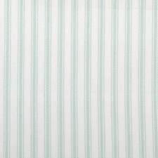 Sea Green Stripe Decorator Fabric by Duralee