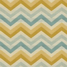 Beige/Yellow/Light Blue Modern Decorator Fabric by Kravet