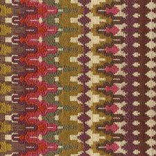 Pink/Orange/Purple Ikat Decorator Fabric by Kravet