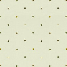 White/Grey/Yellow Dots Decorator Fabric by Kravet