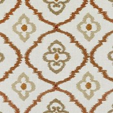 Copper Embroidery Decorator Fabric by Duralee
