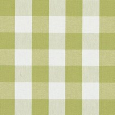 Avocado Plaid Decorator Fabric by Duralee