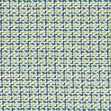 Blue/Green Geometric Decorator Fabric by Duralee