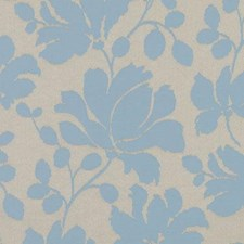 Azure Floral Medium Decorator Fabric by Duralee