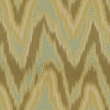 Seaspray Flamestitch Decorator Fabric by Kravet