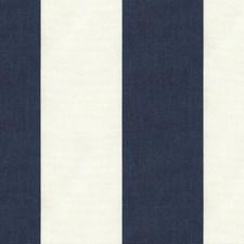 Indigo Stripes Decorator Fabric by Kravet