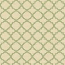 Light Green/Beige/Mint Geometric Decorator Fabric by Kravet