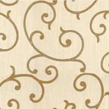 White/Camel/Ivory Lattice Decorator Fabric by Kravet