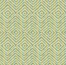 Brown/Light Blue Geometric Decorator Fabric by Kravet