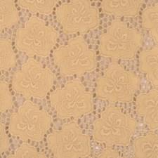 Khaki Embroidery Decorator Fabric by Fabricut