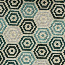 Lagoon Geometric Decorator Fabric by Kravet