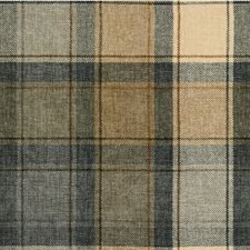 Beige/Grey/Ivory Plaid Decorator Fabric by Kravet