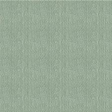 Light Blue Herringbone Decorator Fabric by Kravet