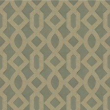 Vapor Blue Geometric Decorator Fabric by Kravet