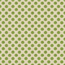 Picnic Green Dots Decorator Fabric by Kravet