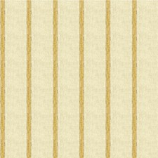 Yellow/Beige/Taupe Stripes Decorator Fabric by Kravet