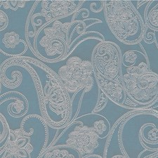 Bluestone Paisley Decorator Fabric by Kravet