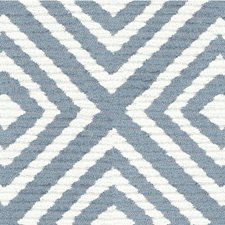 Light Blue/White Texture Decorator Fabric by Kravet