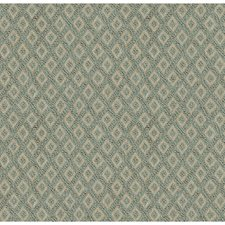 Light Blue/Beige Diamond Decorator Fabric by Kravet