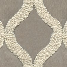 Taupe/Beige Contemporary Decorator Fabric by Kravet
