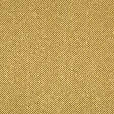 Gold/Beige Herringbone Decorator Fabric by Kravet