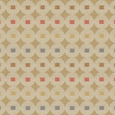Sand Castle Geometric Decorator Fabric by Kravet